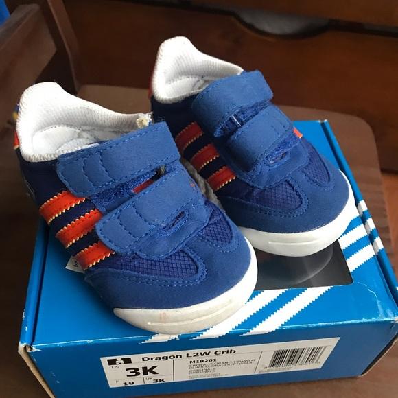 adidas dragon crib shoes